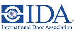 International Door Associations Logo - Upwardor